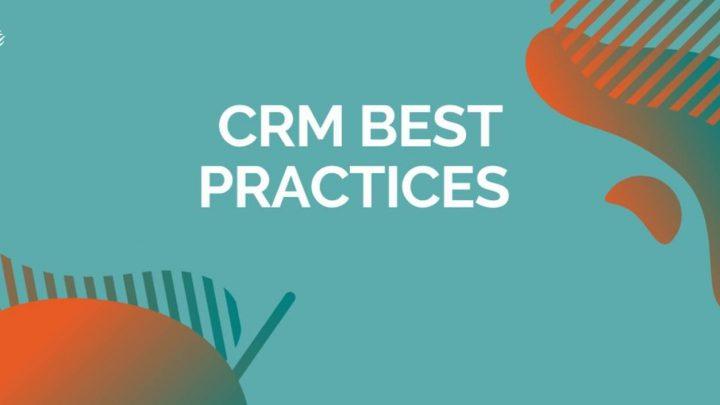 کارهای اصلی در CRM